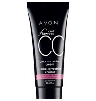 Ideal Flawless CC Color Corrector Cream - I use Deep. Quick and lightweight way to a flawless face!