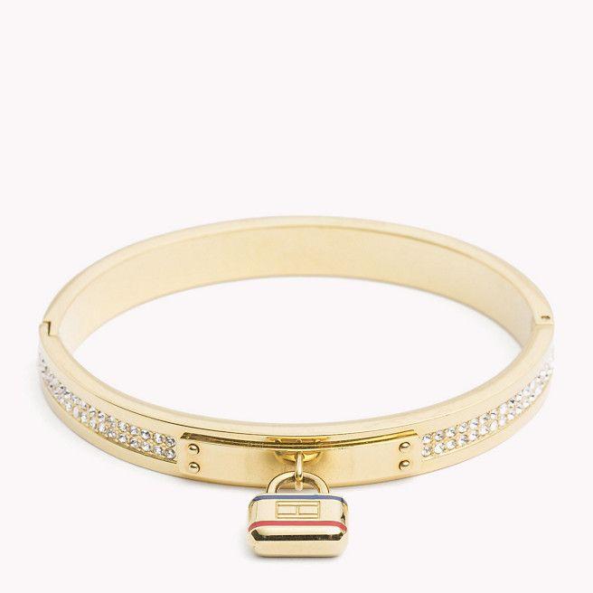 Gold-Plated Bangle - Sales Up to -50% Tommy Hilfiger l1kZYOv