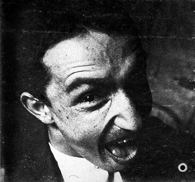 "Fortunato Depero – ""Self-portrait with grimace"" (1915)"