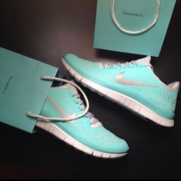 Nike Free Run 3.0 V4 Tiffany Blue Green Size 8.5 Brand new, authentic. I do not have the box Nike Shoes Athletic Shoes