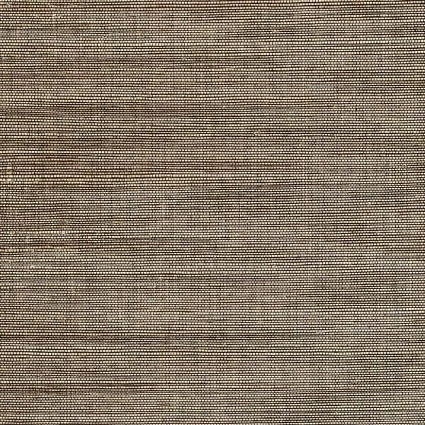James Marcin Brown Grasscloth Wallpaper Sample