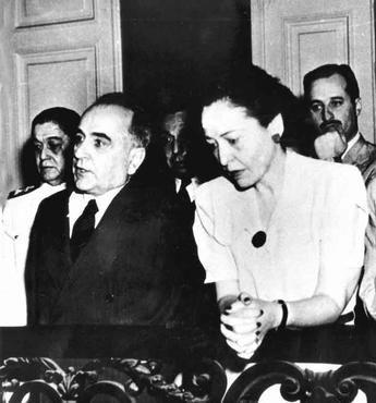 Darcy Sarmanho Vargas foi a esposa de Getúlio Vargas, ex-presidente do Brasil, e a primeira-dama do país por dois períodos.