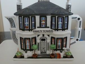 FAWLTY TOWERS TEAPOT