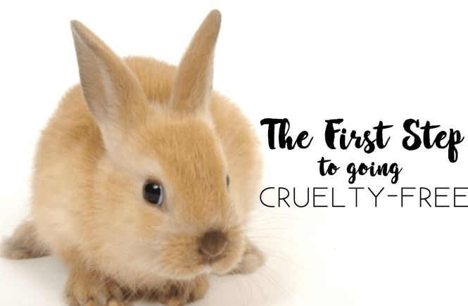 Find out what is the first step you should take before going cruelty-free! #goingcrueltyfree #crueltyfree #howto #thesoulfulbunny