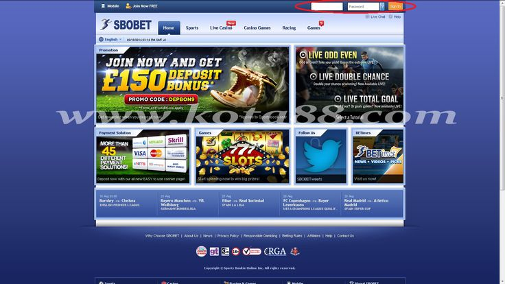 Link Alternatif SBOBET Online Indonesia