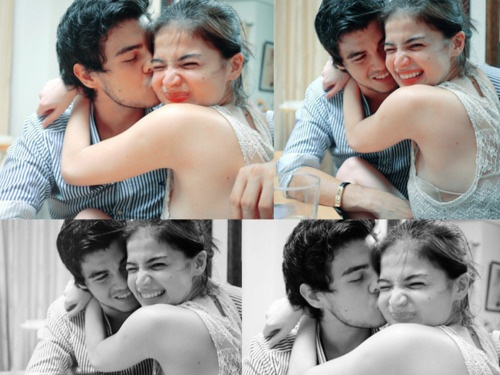 Erwan Heussaff and Anne Curtis - but just Anne. But I do love them being together.