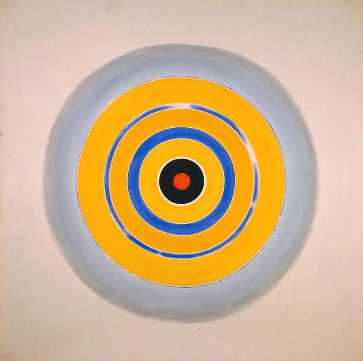 Kenneth Noland, 'Drought' 1962