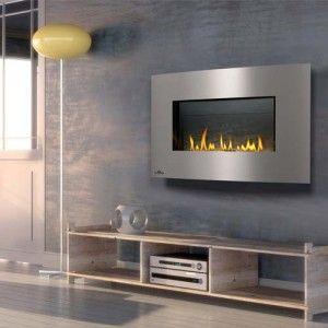 Plazmafire™ WHD31 Gas Fireplace  A modern gas fireplace that hangs on your wall. Ideal for modern and contemporary rooms