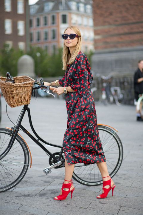 Pernille Teisbaek in Lovechild and Aquazzura shoes