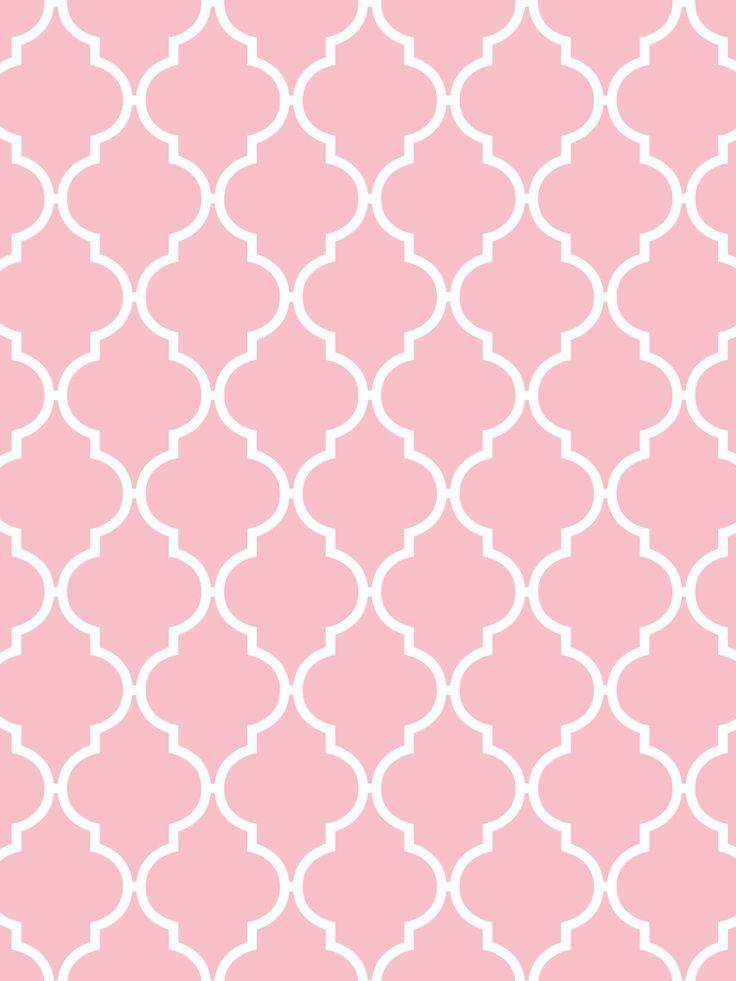 Make it...Create--Printables & Backgrounds/Wallpapers: Quatrefoil...Light Aqua, Rose, & Pink