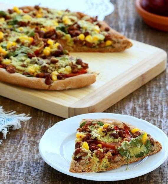7 receitas de pizza saudável | Estas receitas de pizza são absolutamente deliciosas, nutritivas, saudáveis e ricas em proteína. Perfeitas para todos os que procuram seguir um estilo de vida saudável.