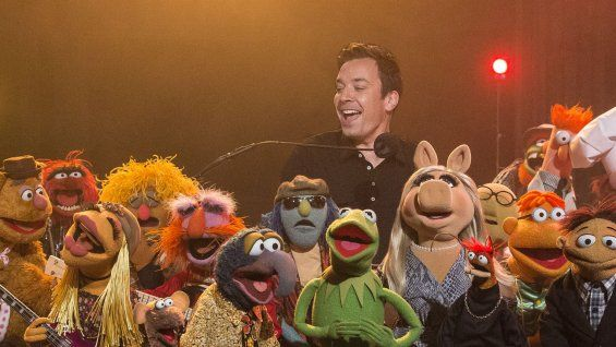 Jimmy Fallon Welcomes Andy Samberg, Muppets to Final 'Late Night' (Video)