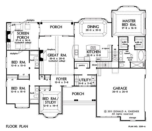 17 best images about floor plans on pinterest for 4 bedroom house plans with basement