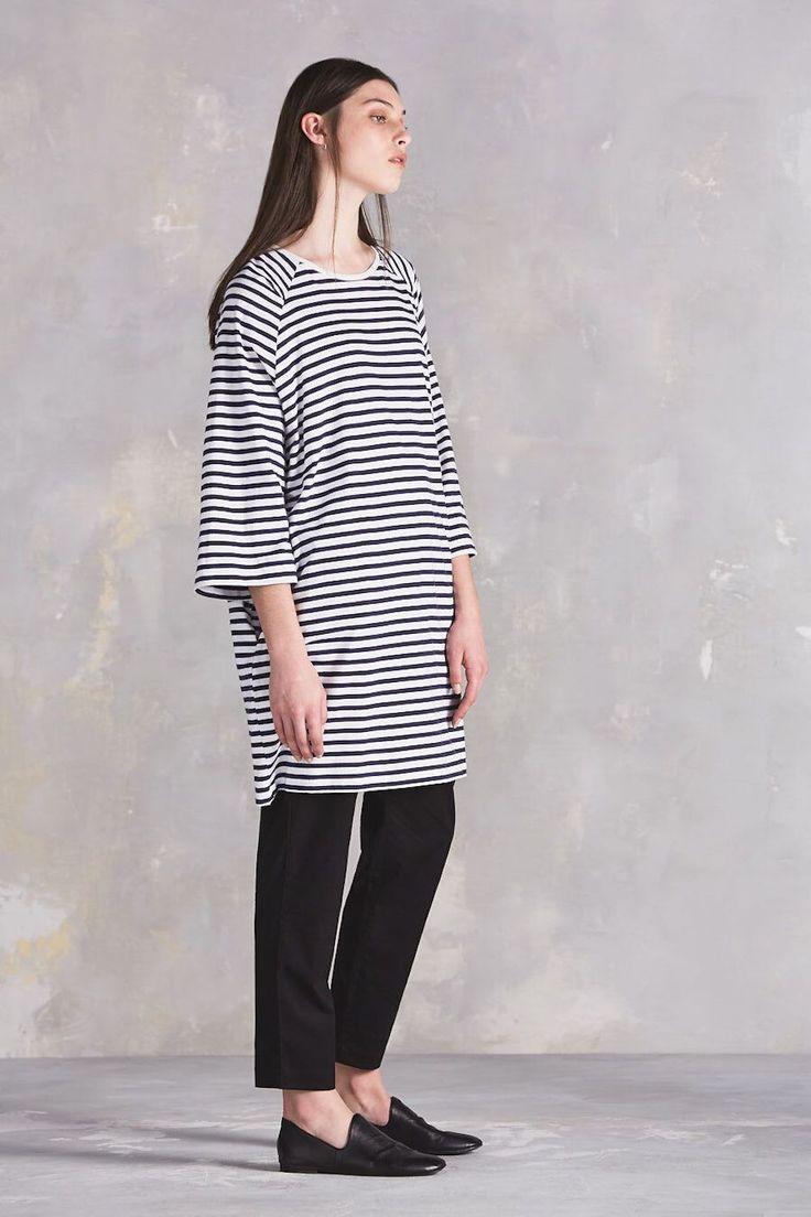 kowtow - Oversized Tee Dress | Stripe