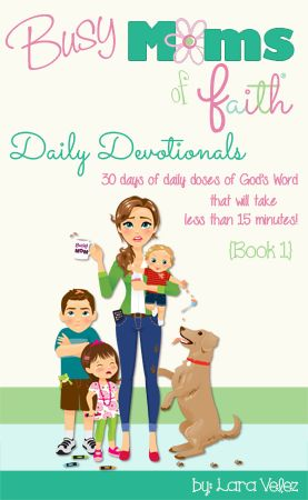 The daily devotions in this series are tailor made for busy moms like us! They are designed to take 15 minutes or less each day! They are a MUST-HAVE for any mom who never seems to have the time to sit down and spend some time with her Beloved. They are for those of us who crave time on our Daddy in Heaven's lap! What are you waiting for?? NO more excuses! These ARE doable! Grab a copy, and be blessed! #devotions #busymoms #dailydevotionals