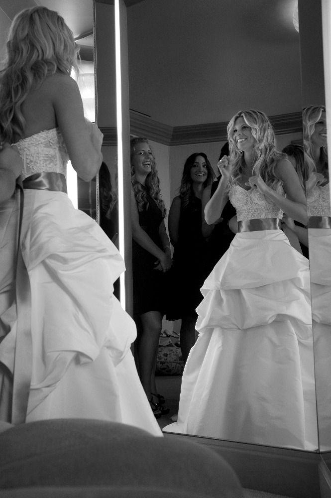 beach weddings in orange county ca%0A Wedding Dress  Monique Lhuillier  Newport Beach Wedding  http   caratsandcake com