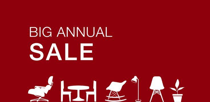 BIG ANNUAL SALE - Desli | Design Your Life. Comenzó el Big Annual Sale. Liquidación final de stock hasta 50% Off en muebles y deco.