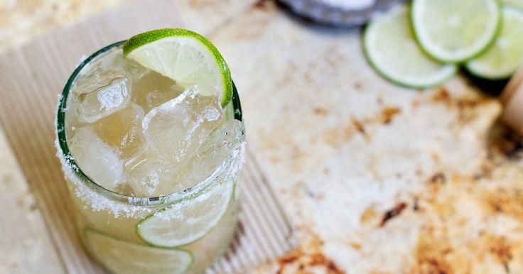 On revisite la traditionnelle margarita avec de la Tequila Patrón et du sirop d'agave.