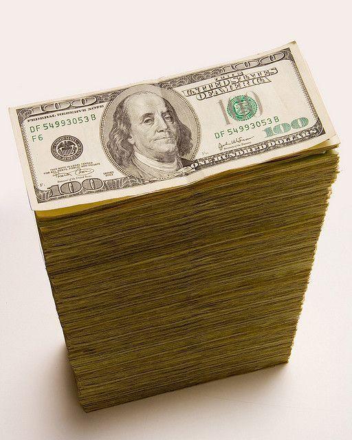 stack 100 dollar Bills | Cash stack of 100 dollar …