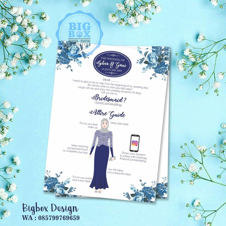 Bridesmaid card for Sylvia & Gani wedding. (1 sisi) Thank you. . . . Whatsapp/Line 085799769659 . . . #bridesmaid #groomsman #bridesmaidcard#bridesmaidcardsemarang #groomsmancard #kartubridesmaid #kebayajumputan #batikjumputan #kartugroomsman #attireguide #attireguidecard #undanganunik #undangan #undangansosmed #digitalinvitation #bigboxdesign #undanganelektronik #undanganpernikahan #weddinginvitation #einvitation
