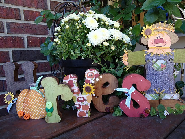 HarvestCrafts Ideas, Fall Ideas, Fall Crafts, Fall Harvest, Crafty Things, Crafts Goodies, September Blockheads, Month Kits, Front Porches