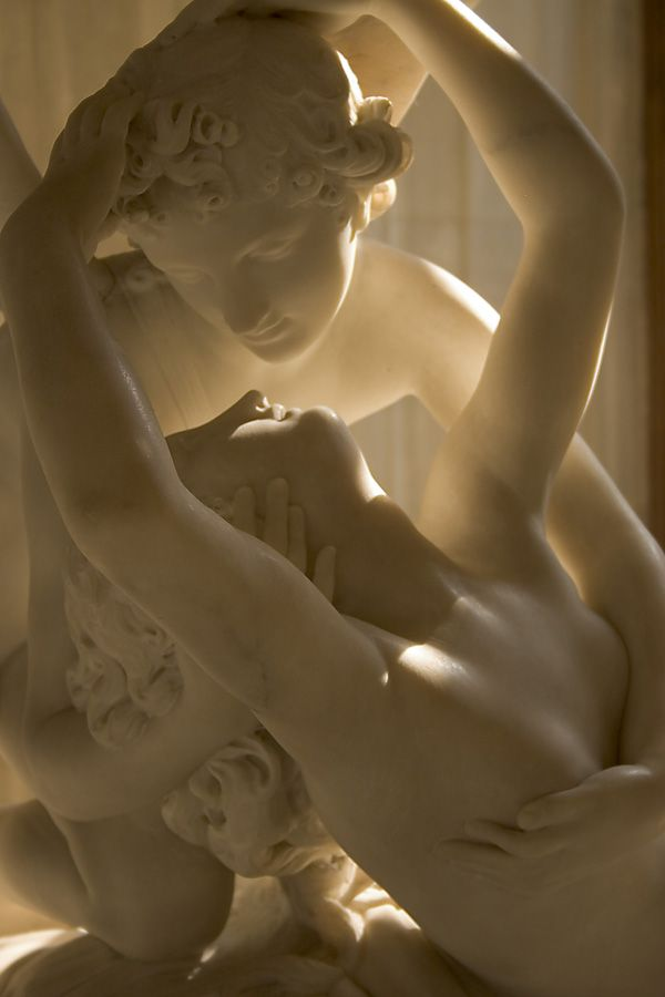 Eros and Psyche, by Canova: