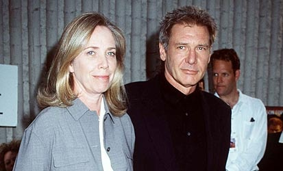 Harrison Ford and Mary Marquardt ~ wife #2