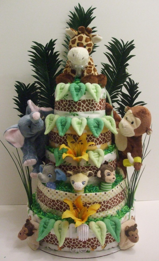 1064 Best Images About Baby Shower Diaper Cakes Amp Wreaths