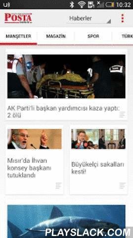 Posta  Android App - playslack.com , Türkiye'nin en sevilen gazetesi Posta'nın Android uygulaması Google Play'de!Yayına başladığı 2003 yılından beri istikrarlı yükselişini sürdüren Posta Gazetesi'ne, istediğiniz her an cebinizden de okumanın keyfine varacaksınız!Yenilikçi, özgün habercilik anlayışı ve pozitif yaklaşımı ile yayın politikasını devam ettiren Posta'ya, Android telefonunuzdan istediğiniz her an ulaşabilirsiniz.Modern tasarımı ile kullanıcı deneyimi göz önünde bulundurularak…