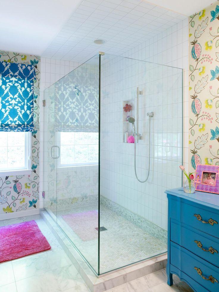 Bathroom Shower Designs | Bathroom Design - Choose Floor Plan & Bath Remodeling Materials | HGTV