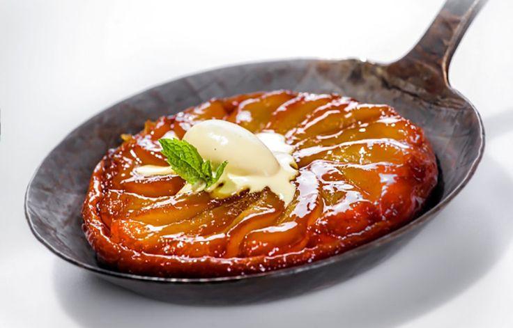 Ricetta Tarte Tatin con gelato alla vaniglia - Le ricette de La Cucina Italiana