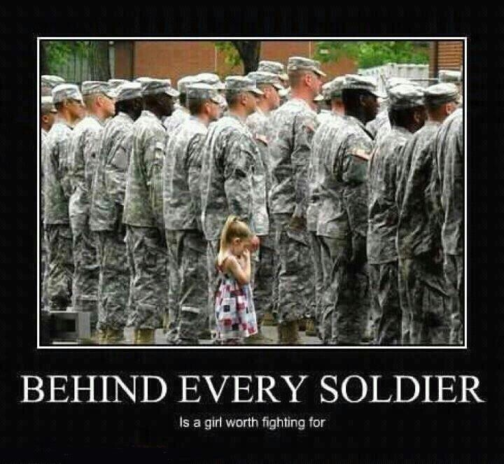 I Love This. Being A Daughter Of A Military Father, It