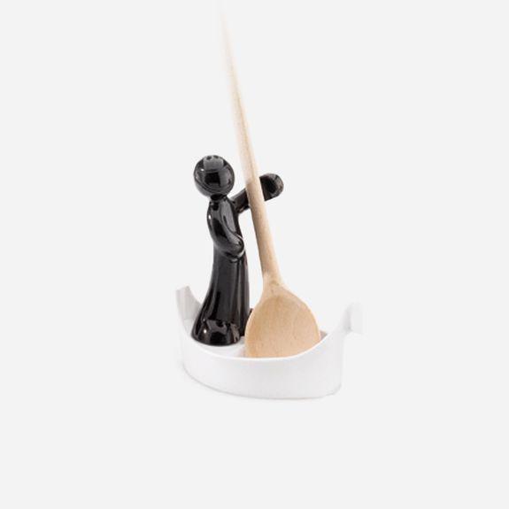 Koziol - Luigi Spoon Rest – Black