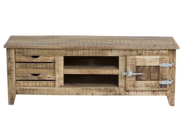 Lowboard Frigo TV-Schrank Holz Massiv Mango 7707. Buy now at https://www.moebel-wohnbar.de/lowboard-frigo-tv-schrank-hifi-moebel-phonomoebel-holz-massiv-mango-7707.html