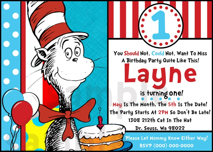 204562008044677134 on Dr Seuss Birthday Party Ideas