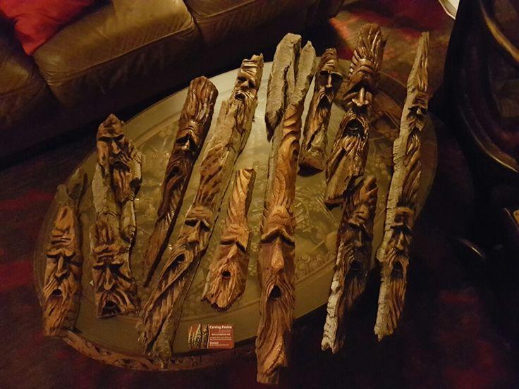 Carving fusion wood spirits
