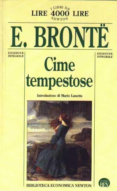Cime tempestose - E. Bronte