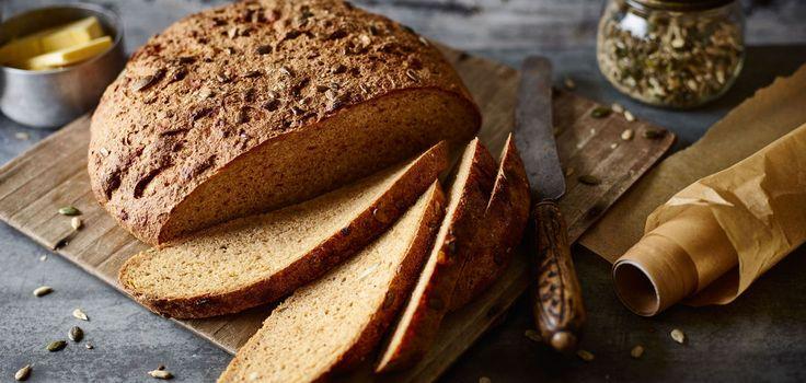 Dinkel-Kürbis-Brot mit Röstzwiebeln