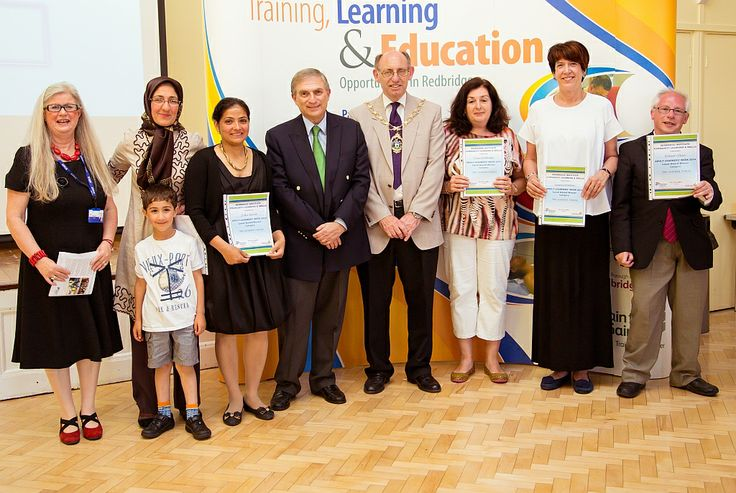 Redbridge Institute's Learner Forum was given a group award in recognition of their hard work as the 'learner voice' in our decision making and their commitment to the success of Redbridge Institute