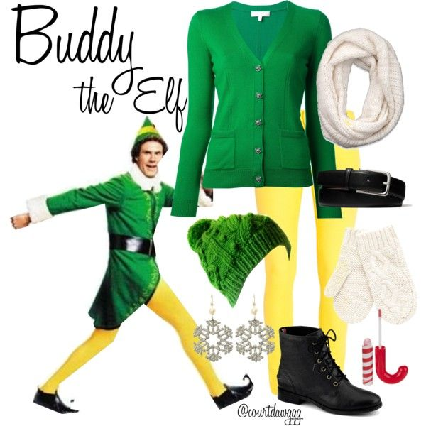 how to make a buddy the elf costume
