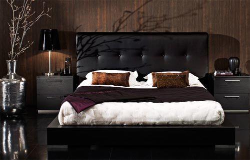 Beauty Black Room Black Bedroom Furniture To Make Your Bedroom Look Grandeur