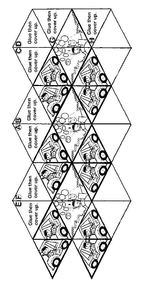 Kaleidocycle Pattern--thanks megan!