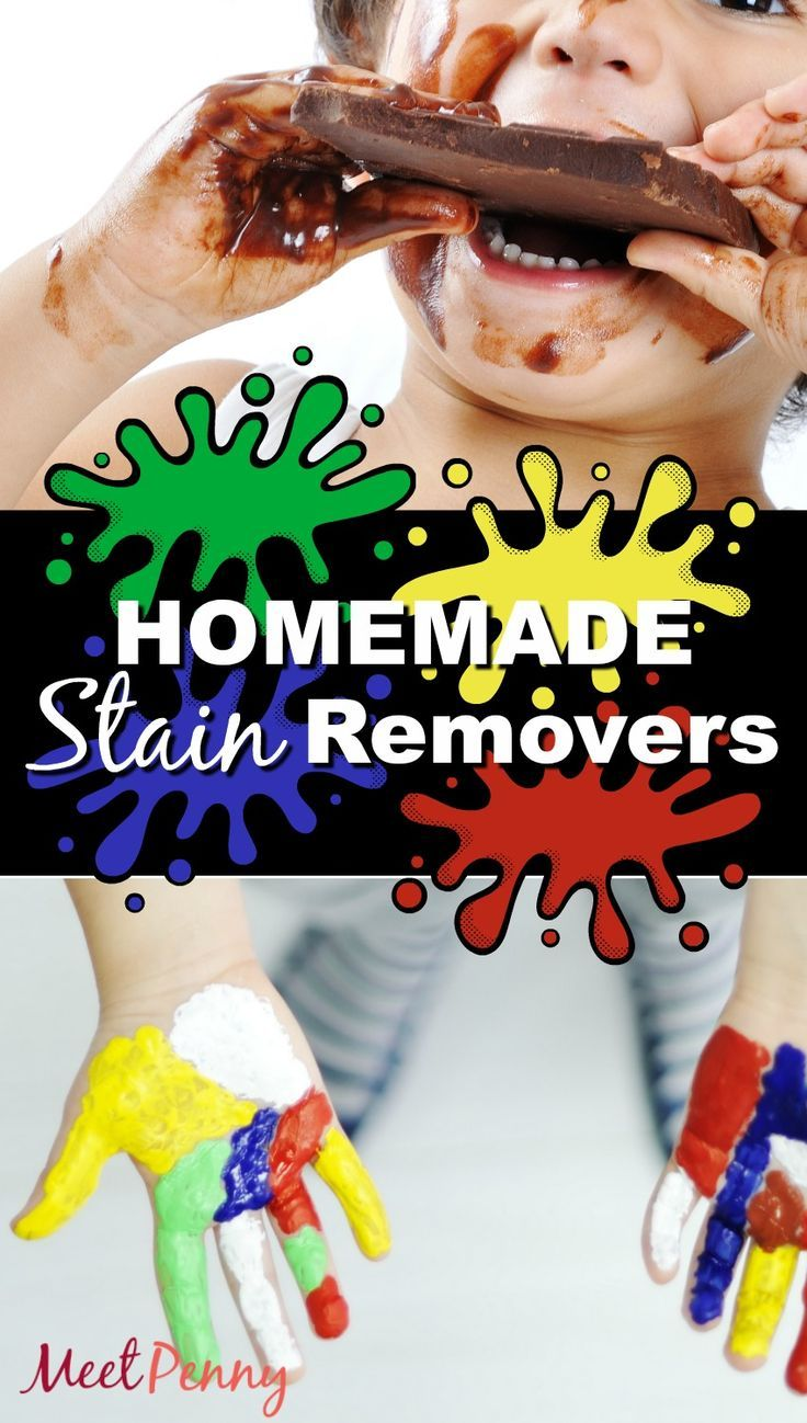 Stop wasting money on expensive stain removers. Use these homemade stain remover recipes to keep your kids neat and tidy.