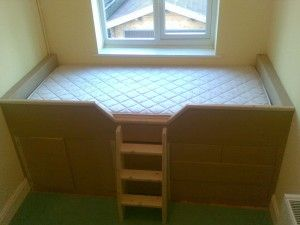 Built-in Childrens Cabin Bed with Drawers, Guildford, Surrey