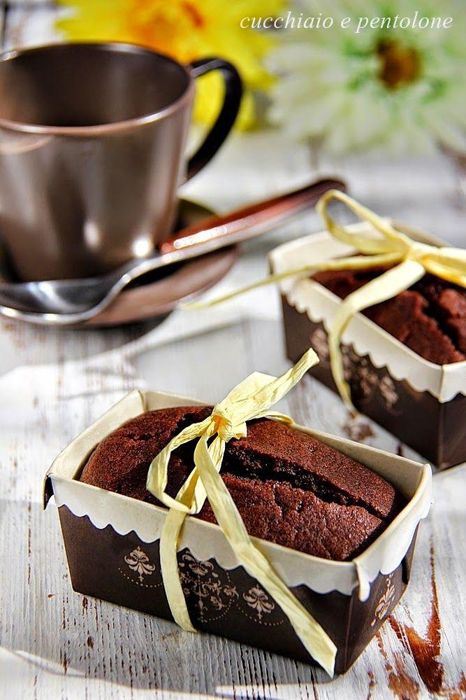 mini cakes al cacao e caffè senza burro senza uova