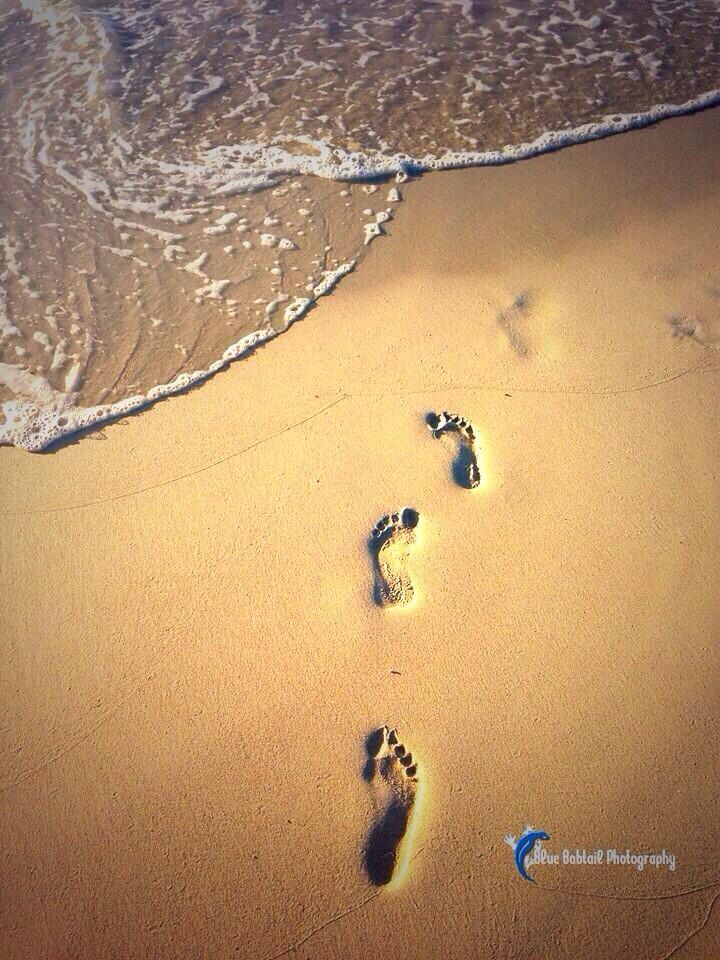 #sand #australia #footprints #ocean #beach