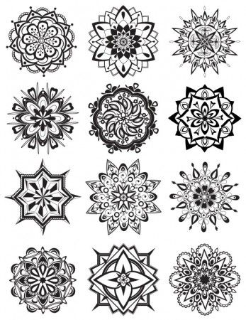 Mandala Coloring Pages | Dabbles & BabblesDabbles & Babbles
