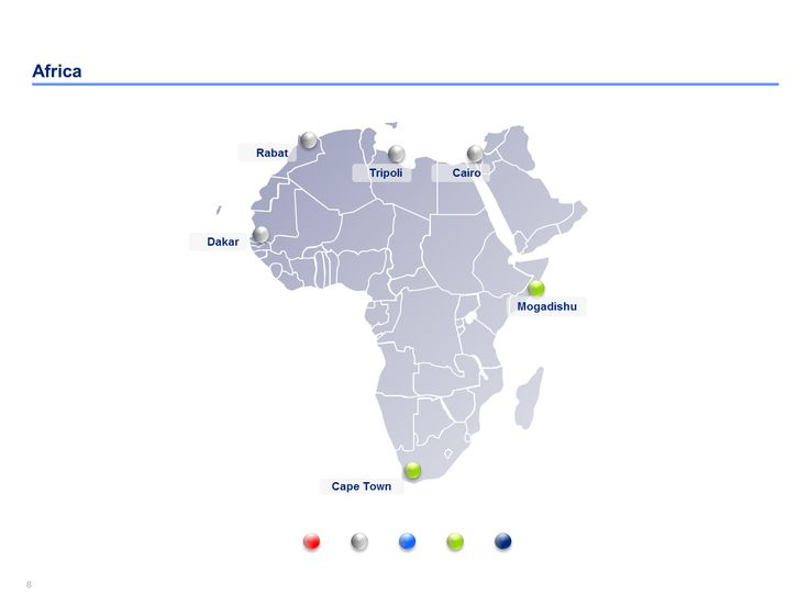 15 best editable powerpoint africa map templates images on africa map templates toneelgroepblik Gallery