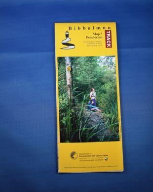 Map 5 - Pemberton   Bibbulmun Track