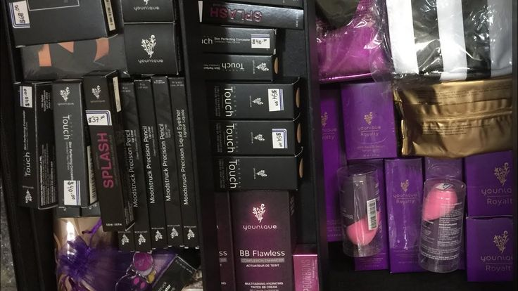 Younique Trunk + MAKEUP COLLECTION🍆